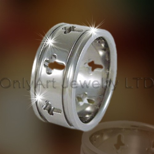 Cross Titanium Rings OATR0145