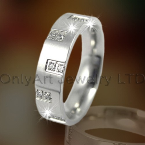 Zircon Steel Or Titanium Rings OATR0148