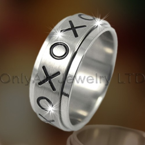 Fashion Titanium Big Ring OATR0156