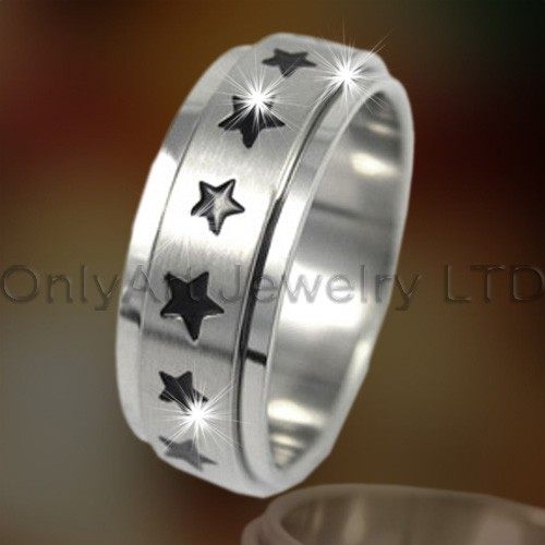 Star Design Titanium Jewelry OATR0158