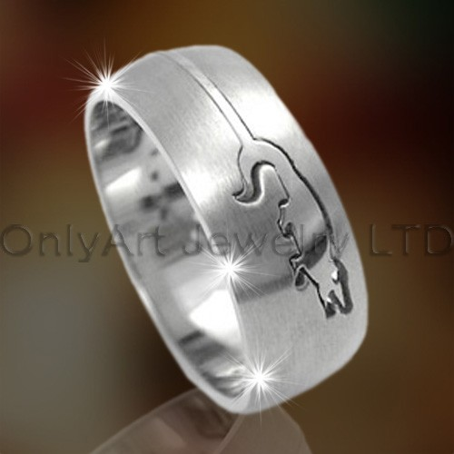 Animal Design Titanium Ring OATR0162