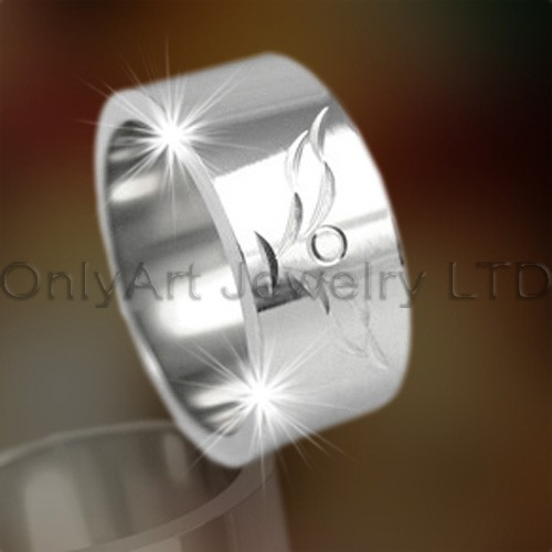 Large Stainless Steel Ring OATR0169
