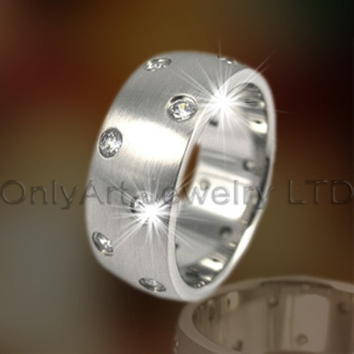 Mens Titanium Finger Ring OATR0170