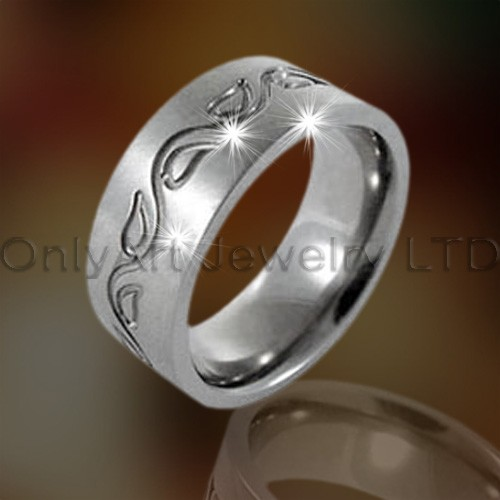 Stainless Steel Mens Ring OATR0181