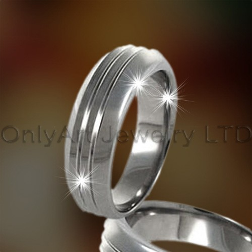Engagement Stainless Steel Ring OATR0189