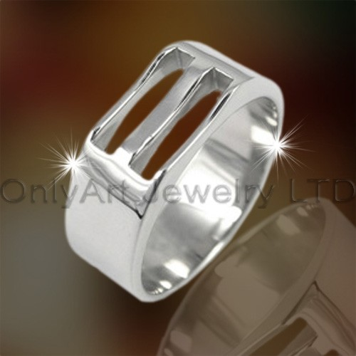 Large Titanium Ring For Men OATR0190