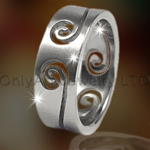 Fashion Design Titanium Rings OATR0195