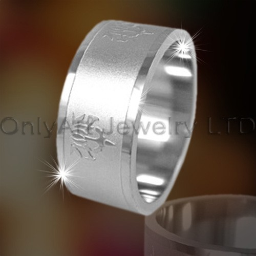 Titanium Rings Mens OATR0201