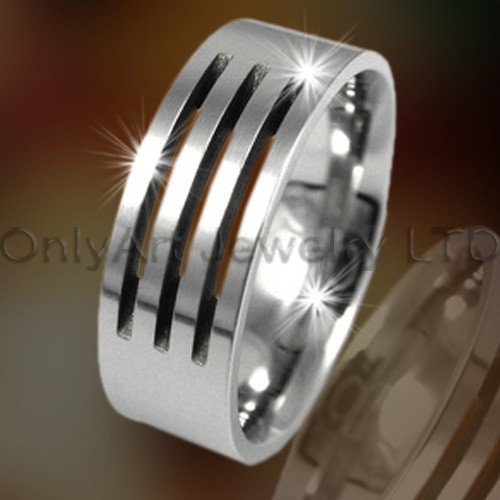 Titanium Mens Jewelry OATR0213
