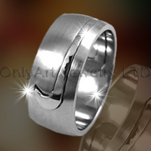 Mens Titanium Bands OATR0218