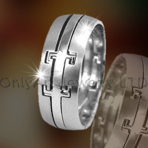 Mens Titanium Bands OATR0219