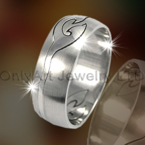 Custom Titanium Rings OATR0225