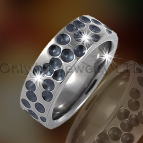 Cool Titanium Ring Jewelry OATR0243