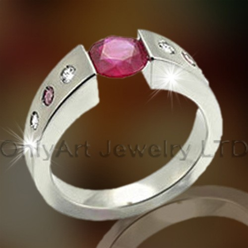 Ladies Wedding Titanium Ring OATR0252