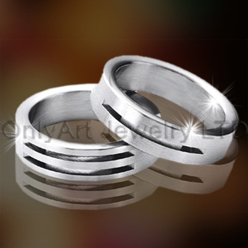 Stainless Steel Couple Ring Set OATR0255