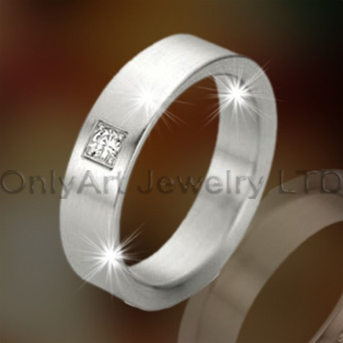 Fashion Design Titanium Ring OATR0257