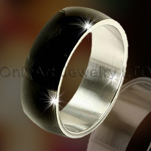 Black Titanium Ring OATR0263