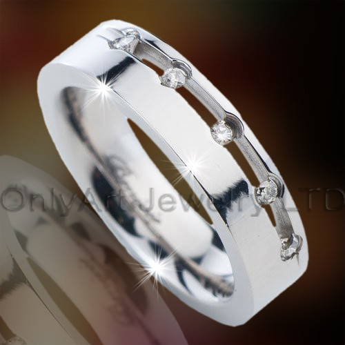 Stylish Titanium Ring OATR0269