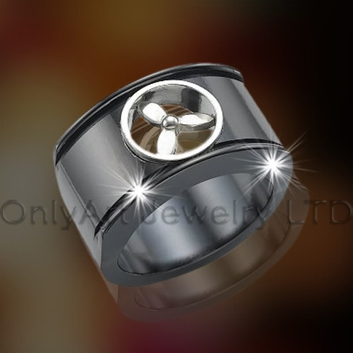 Mens Titanium Ring OATR0271