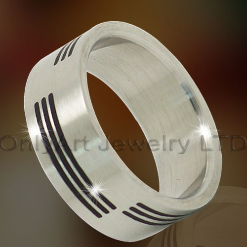Etched Titanium Ring OATR0287