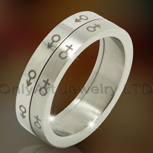 Traditional Titanium Ring OATR0291