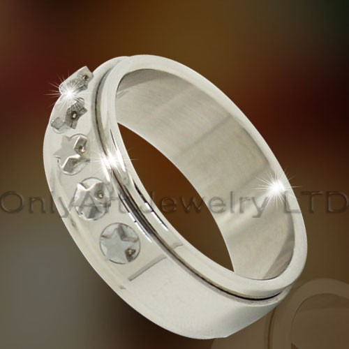 Star Titanium Ring OATR0295