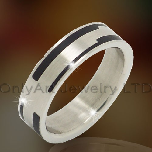 Stainless Steel Or Titanium Jewelry Ring OATR0296