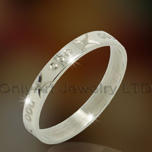 Titanium Or Stainless Steel Jewellery Ring OATR0297