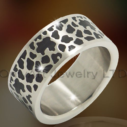 Titanium & Stainless 316l Steel Rings OATR0307
