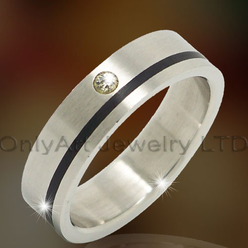 Titanium &316l Stainless Steel Jewelry Rings OATR0308