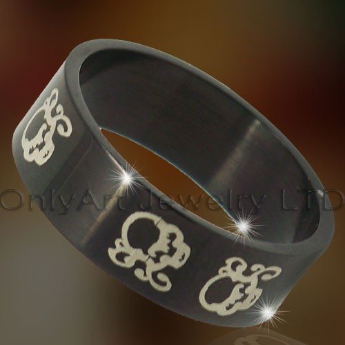 Titanium Rings Jewelry OATR0315