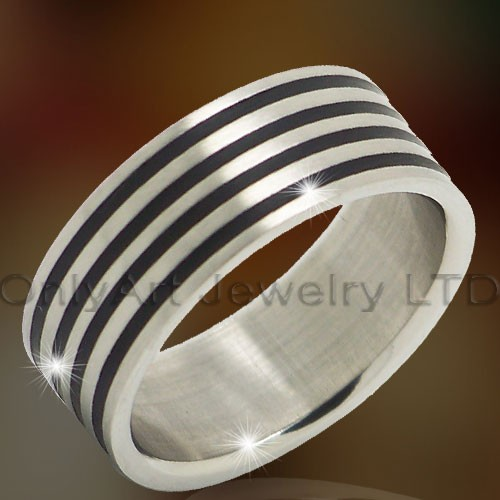 Titanium Rings Jewelry OATR0316