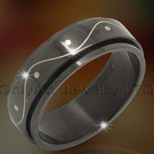 Titanium Rings Jewelry OATR0317