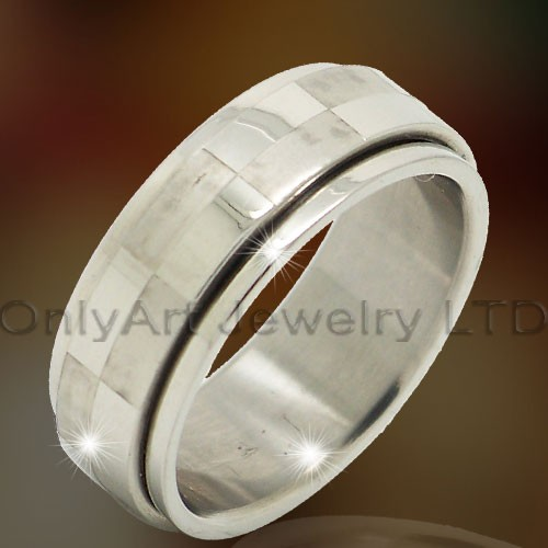 316l Steel Rings Jewelry OATR0319