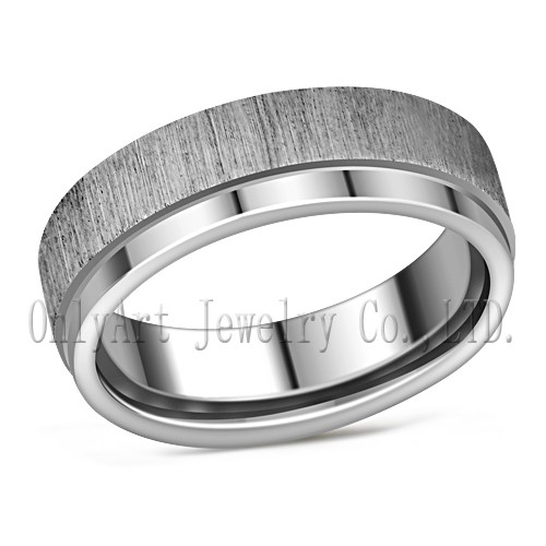 stailess steel ring with unique design wholesale jewelry China