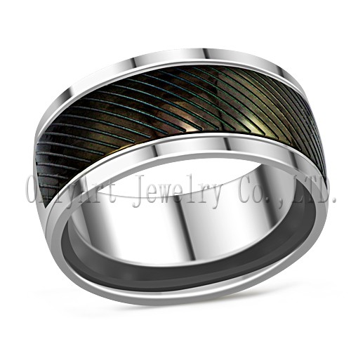 black plated steel ring supplier China
