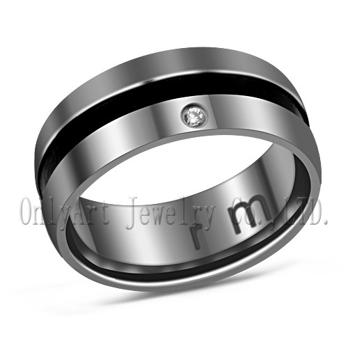 stainless steel 316L ring men fashion jewelry factory