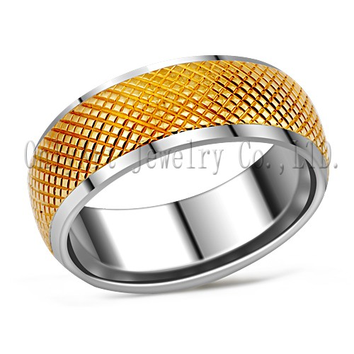 titanium ring fashion steel jewelry