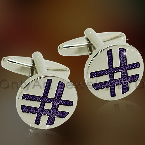 New style enemal cufflink for men shirt cuflink