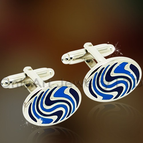 best quality colorful stone cufflinks