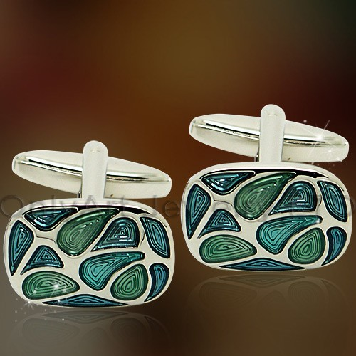 beautiful stone shirt cufflinks for female