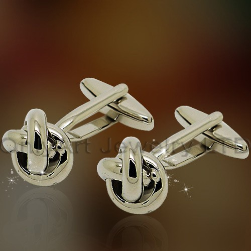NEW fashion shirt brass knot cuff link for men