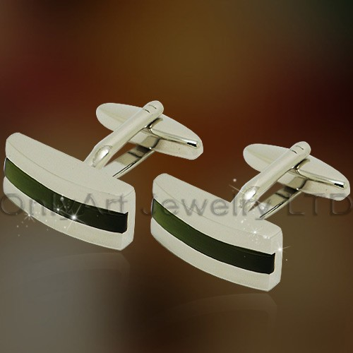 NEW fashion shirt brass stone cuff link for men