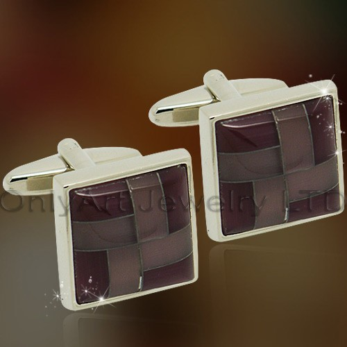 NEW high quality fashion shirt brass masoic cufflink for men