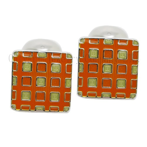 new design fashion vintage enamel cufflink