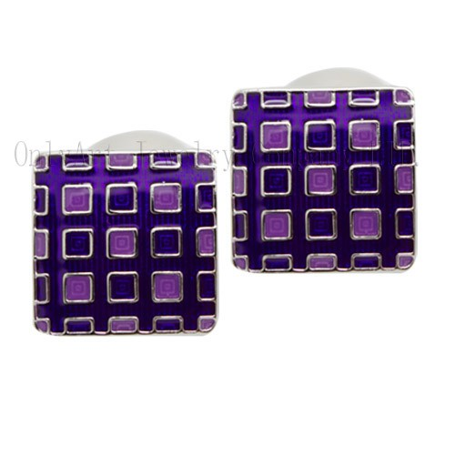 fashion custom enamel cufflinks