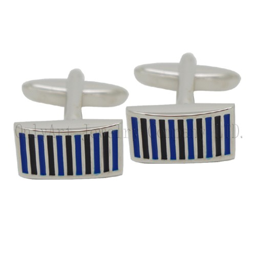 high quality fashion shirt cufflink with enamel