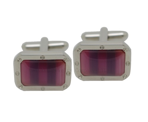 unique design wholesale somaic cufflink with plating