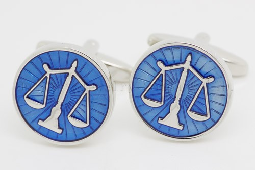 fashion libra cufflinks