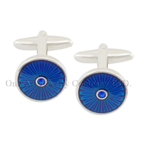 NEW wholesale price men accessory fashion cufflinks with enamel